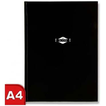 Icon A4 135gsm Hardcover Sketch Book 64 Sheets - B