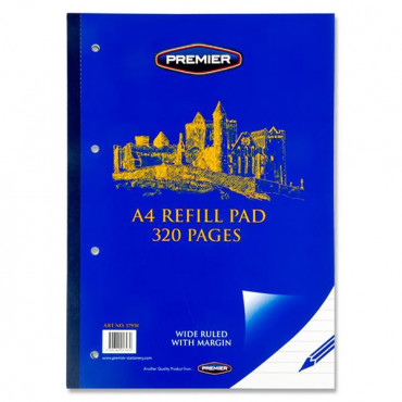 A4 Refill Pad 320 Pg Side