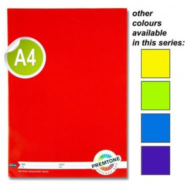 A4 120Pg Manuscript Book 5 Asst.