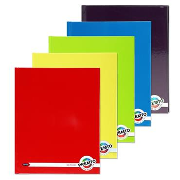 9x7 Hardcover Notebook Premtone 5 Assorted