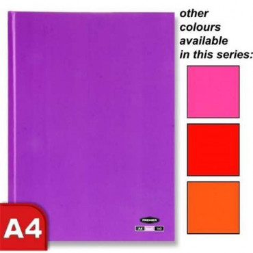 A4 Pastel Hardcover Assorted Colours