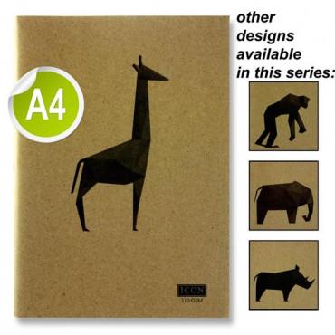 A4 Kraft Sketch Pad 110Gsm