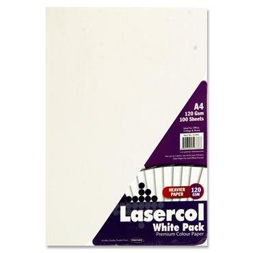 A4 120Gsm Activity Paper 100 Sheets White