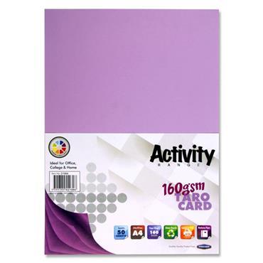 A4 160Gsm Card 50 Sheets Taro