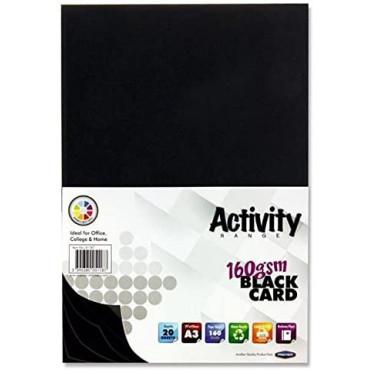 A3 Black Card 20 Sheets