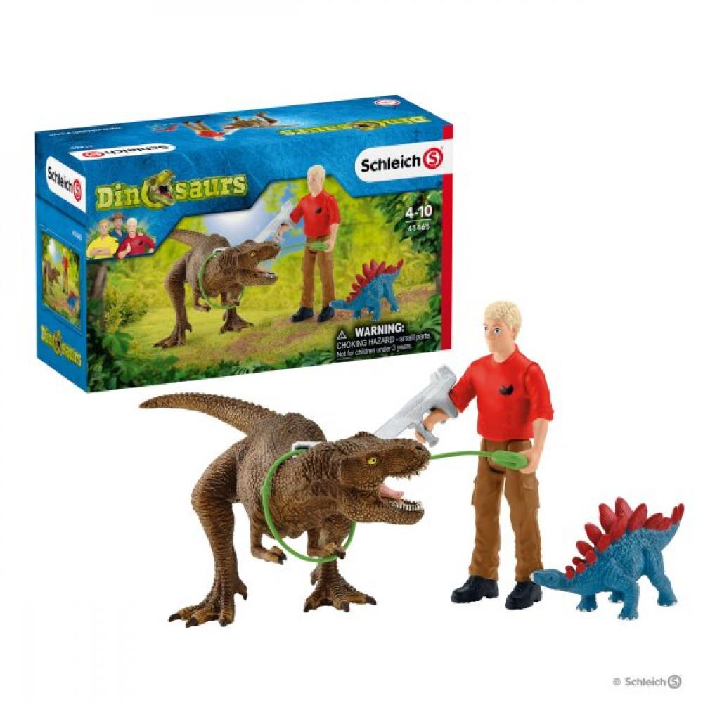 Tyrannosaurus Rex Attack