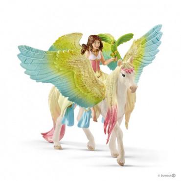 Fairy Surah with Glitter Pegasus