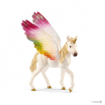 Winged Rainbow Unicorn Foal