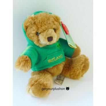 Pipp The Teddy Bear With Ireland Tshirt 14Cm