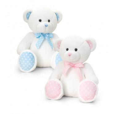 Baby Teddy Bear Spotty 15Cm Assorted
