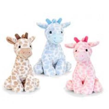 Teddy Snuggle Giraffe 26Cm Assorted