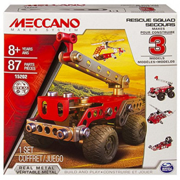 Meccano 3 Model Set Rescue