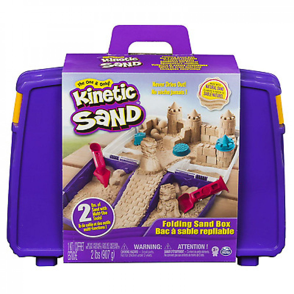 Folding Sandbox Kinetic Sand