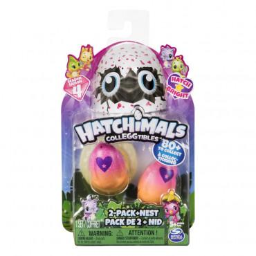 Hatchimals Colleggtibles 2Pk W/Nest S4
