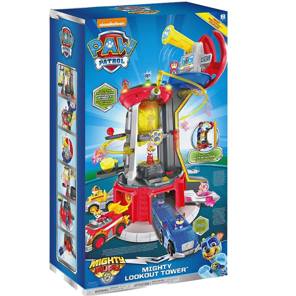 Paw Patrol Superpaws Mighty Lookout Tower