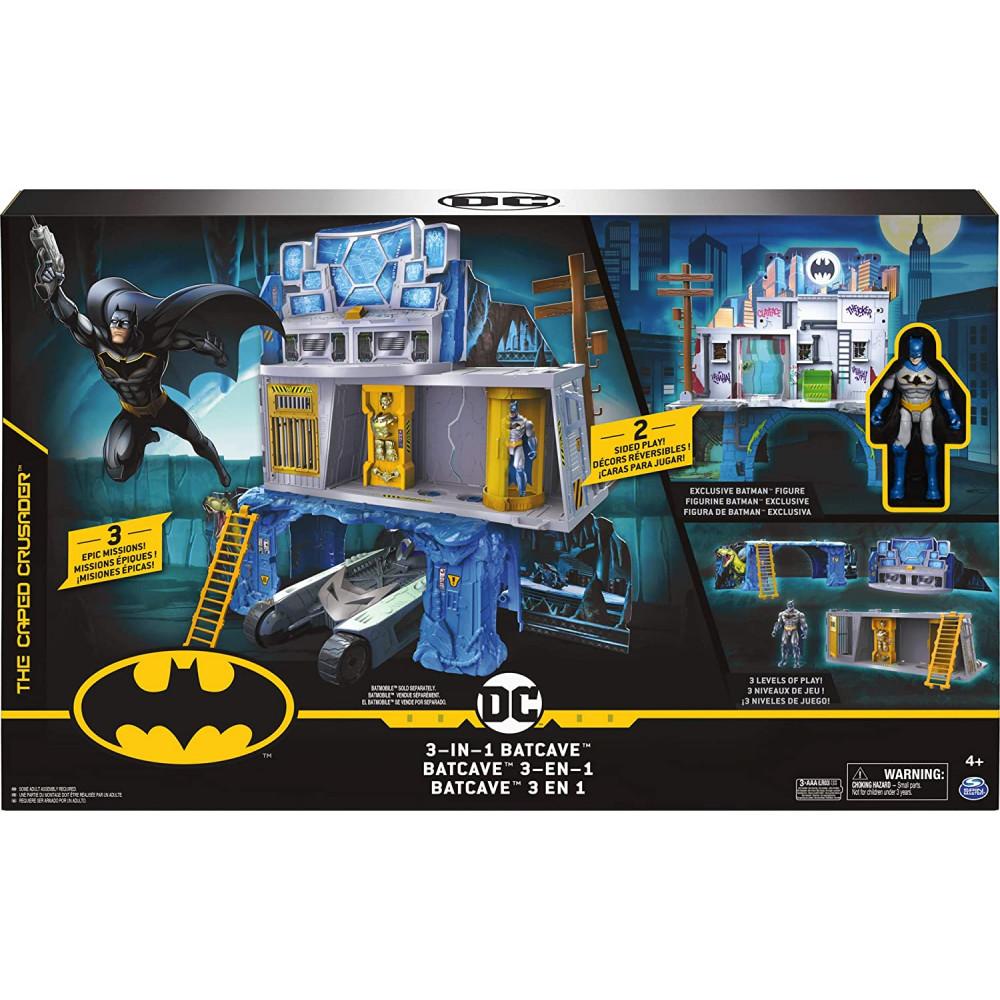 DC Batman Mission Playset