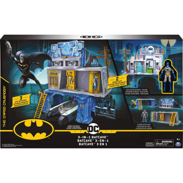 DC Batman Mission Playset
