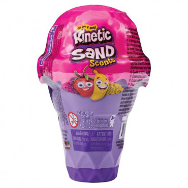 Kinetic Sand Ice Cream Container