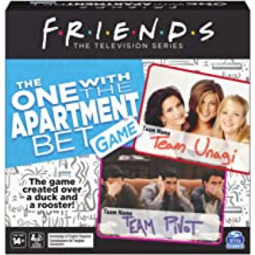 Friends Trivia Game Apartment Bet Game