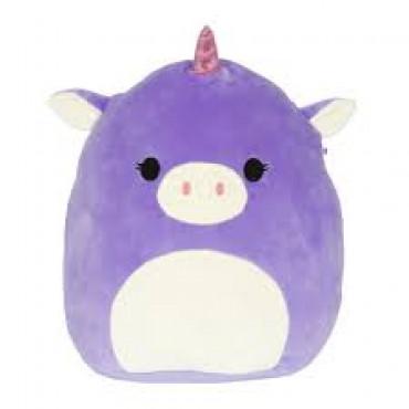 Squish Mallow Purple Unicorn 18cm
