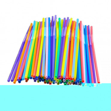 Paper Straws 50box Assorted Stripe