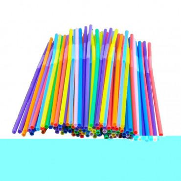 Paper Straws 50box Assorted Stripe