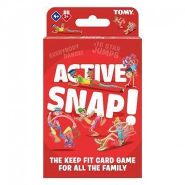 Active Snap Keep Fit Card Game