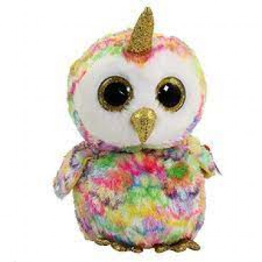 Enchanted Owl With Horn Med Boo