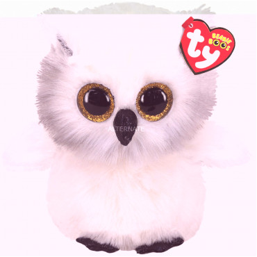 Austin White Owl  Boo Medium