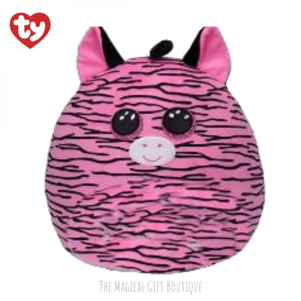 Zoey Zebra Squish A Boo