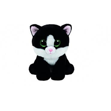 Ty Ava Blackk/White Cat Beanie Boo Babie