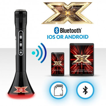 Xfactor Microphone Speaker Xf1