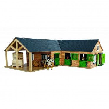1:32 HORSE STABLE W/ 2 BOXES