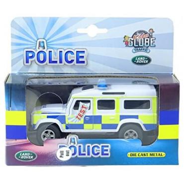 Die Cast Landrover Police