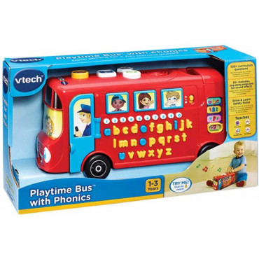 PLAYTIME BUS WITH PHONICS