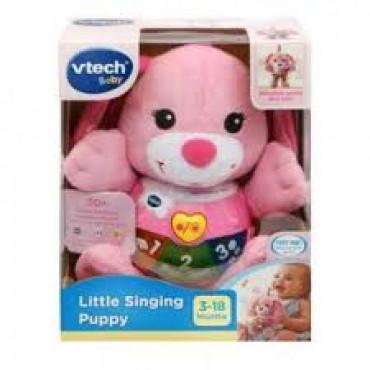 Little Singing Puppy Pink