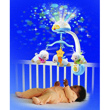Lullaby Lambs Mobile Vtech