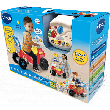 Ride With Me Motorbike 3 in 1 Vtech