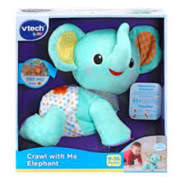 Crawl With Me Elephant Vtech