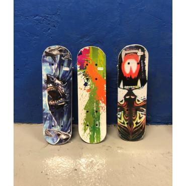 Graffiti Wooden Skateboard Small
