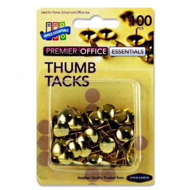 Thumb Tacks Pk 100