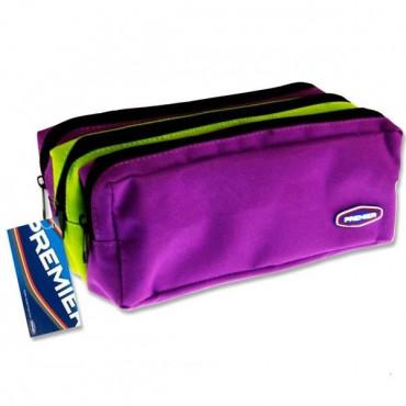Pencil Case 3 Pocket 2 Colour