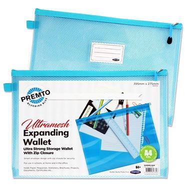 Premto B4 Ultramesh Expanding Wallet  Bluebird B