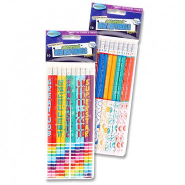 Reward Pencils- 10 Pack (2 Varieties)