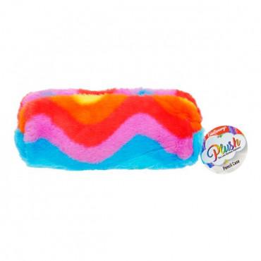 Emotionery Plush Pencil Case - Rainbow