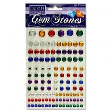 Gem Stones Self Adhesive Assorted