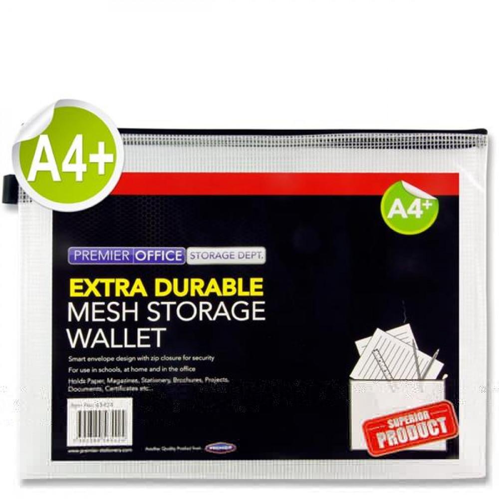 A4+ Plus Mesh Wallet Clear