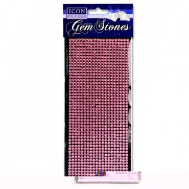 Card 1000 Self Adhesive Gem Stones - Pink