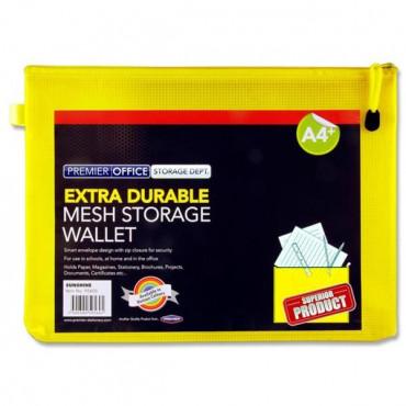 A4+ Mesh Wallet - Sunshine Yellow