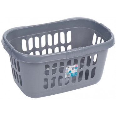 Laundry Basket Silver